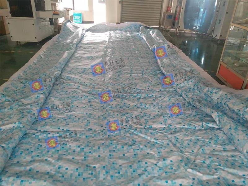 大型支架移动水池样品