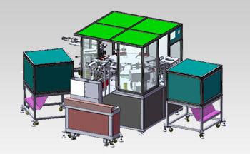 废液袋管夹全自动组装机