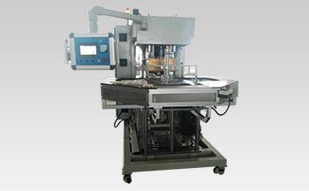 医用三通管自动转盘高周波焊接机